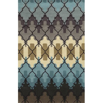 Peter Hand-Tufted Area Rug Rug Size: 5 x 8