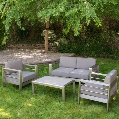 4-Piece Palm Cove Patio Seating Group