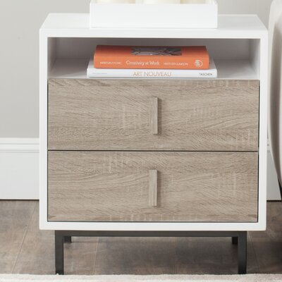 Kefton End Table with Storage