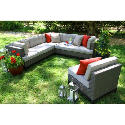 Camilla 4 Piece Sectional with Cushions