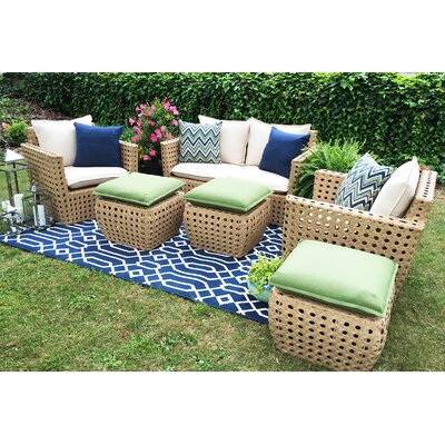 Bethany 6 Piece Seating Group with Cushions