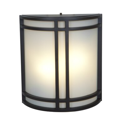 Artemis 2-Light Outdoor Flush Mount Finish: Bronze