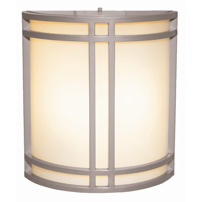 Artemis 2-Light Outdoor Flush Mount Finish: Satin Nickel