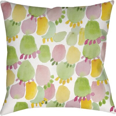 Tricia Prickly Indoor/Outdoor Throw Pillow Size: 18 H x 18 W x 4 D