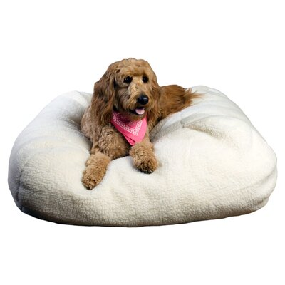 Booker Aria Pet Bed Size: Medium (26 L x 26 W)