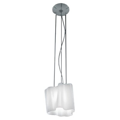 Logico 1-Light Geometric Pendant Size: Mini, Bulb Type: Fluorescent 18W GU24