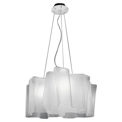 Logico Triple Nested Suspension Size: 78.75 H x 13 W x 13 D, Bulb Type: Incandescent