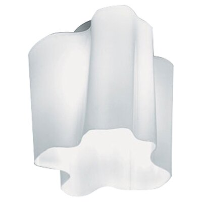 Single Logico Flush Mount Ceiling Light Size: Micro