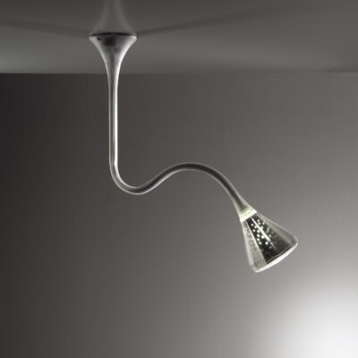 Pipe 1-Light Inverted Pendant Bulb Type: LED, Color Temperature: 2700K