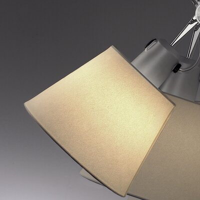 Tolomeo 17.29 Empire Wall Sconce Shade Finish: Parchment