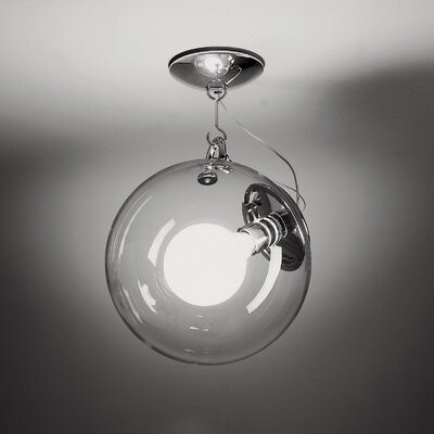 Miconos 1-Light Semi Flush Mount