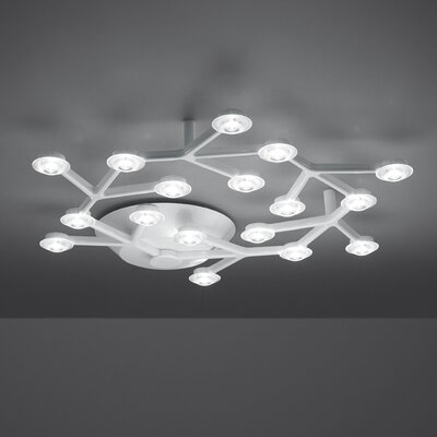 Led Net Circular 18-Light LED Flush Mount