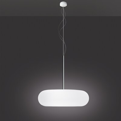 Itka 1-Light LED Mini Pendant Size: 6.5 H x 20 W x 20 D