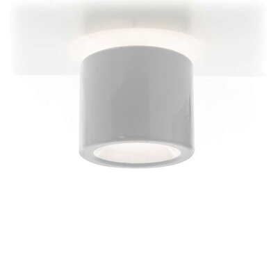 Tet 1-Light Flush Mount Finish: White