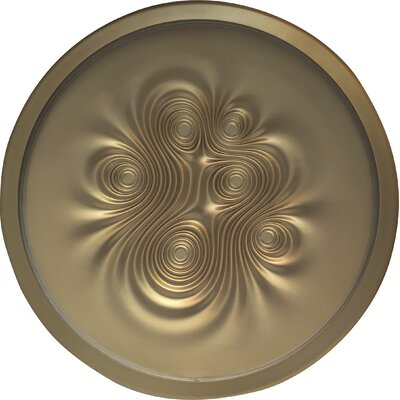 Nebula Wall/Ceiling Light Finish: Gold