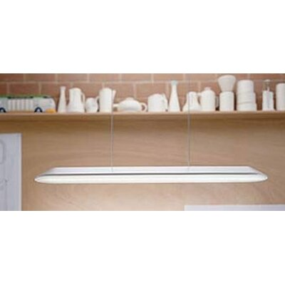 Float 2-Light  Kitchen Island Pendant Bulb Type: FLU 2x54W (not included)