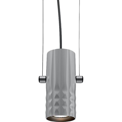Fiamma 1-Light Mini Pendant Finish: Anodized Gray