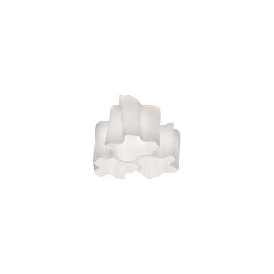 Triple Nested Logico Flush Mount Ceiling Light Size: Micro