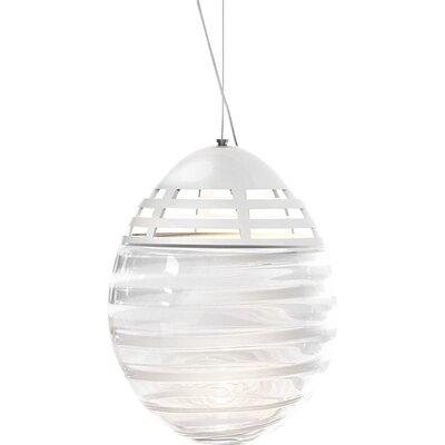 Incalmo 1-Light Globe Pendant Size: 20.5 H x 16 W x 16 D