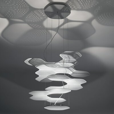 Space Cloud Geometric Pendant