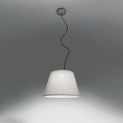 Tolomeo Suspension 1-Light Inverted Pendant Shade Color: White