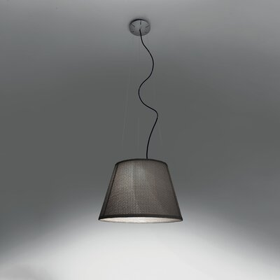 Tolomeo Suspension 1-Light Inverted Pendant Shade Color: Basalt