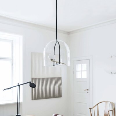 Yanzi Suspension 1-Light LED Mini Pendant