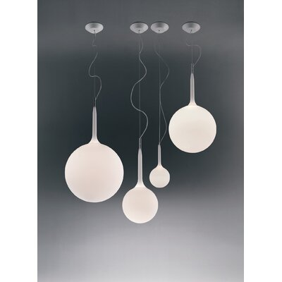 Castore Suspension Light Size: 39 - 96.06 H x 16.5 W x 16.5 D, Bulb Type: Incandescent 150W E26 120V