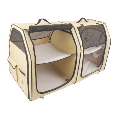 Show House Cat Carrier Color: Cream