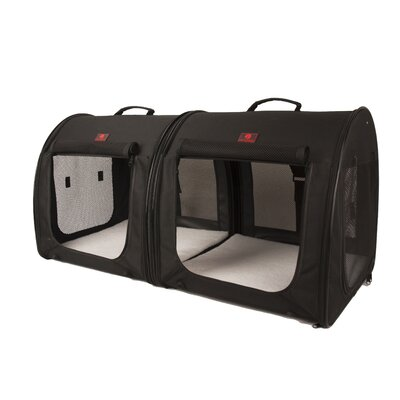 2-in-1 Double Fabric Portable Yard Kennel