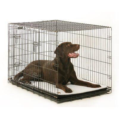 Plush Washable Crate and Kennel Mat Size: 11 W x 16 D x 1.5 H