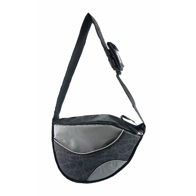 Messenger Bag Pet Carrier Color: Black