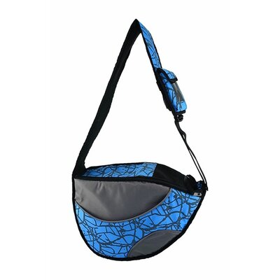 Messenger Bag Pet Carrier Color: Blue