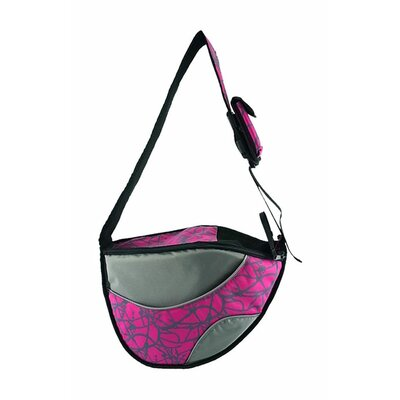 Messenger Bag Pet Carrier Color: Pink