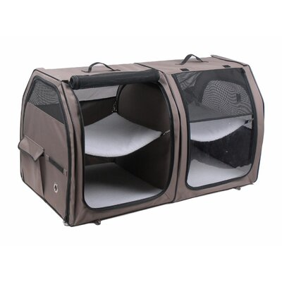 Show House Cat Carrier Color: Tan