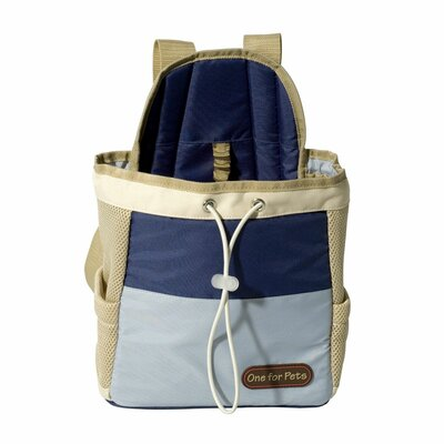 Front Pet Carrier Color: Blue