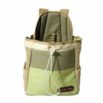 Front Pet Carrier Color: Green