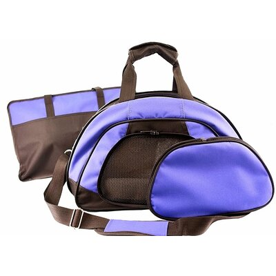 Travel Lite Pet Carrier Color: Purple