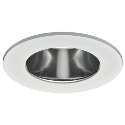 Specular Clear Reflector, Diffuse Polymer Lens 4 LED Recessed Trim