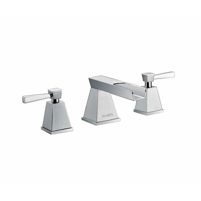 Waterfall Double Handle Widespread Bathroom Faucet Finish: Polished Chrome