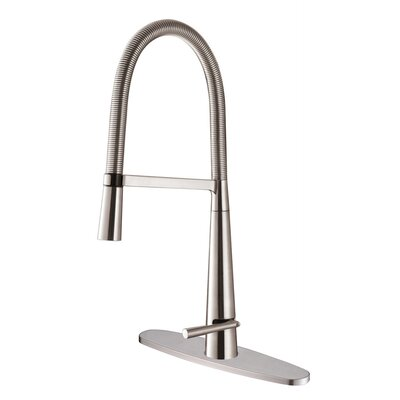 Maestro Kitchen Faucet with Deck Plate
