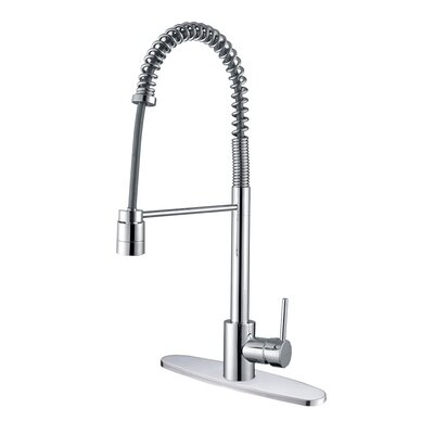 Cascada Kitchen Faucet with Deck Plate