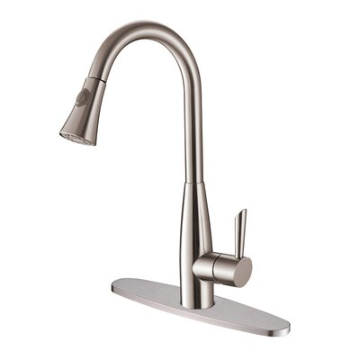 Turino Kitchen Faucet with Deck Plate