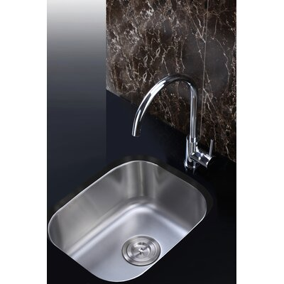 Parmi 15 Undermount Single Bowl Bar Sink