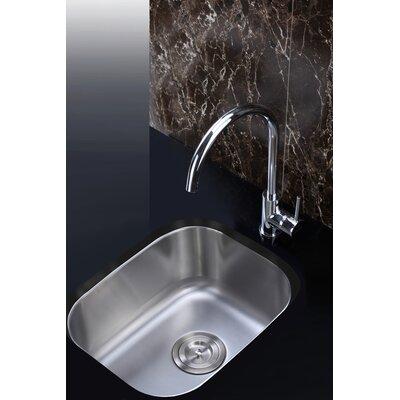 Parmi 15 Undermount Single Bowl Bar Sink