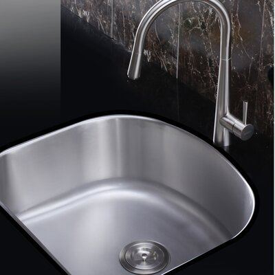 Varna 23.25 x 21 Undermount Single Bowl Kitchen Sink