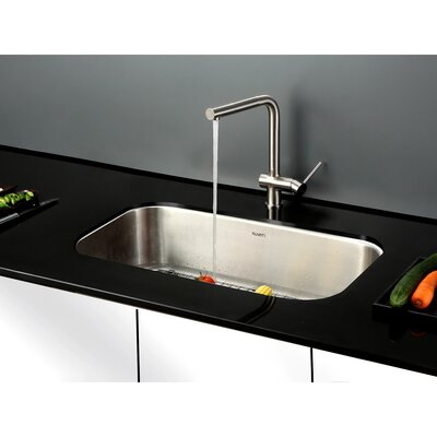 Parmi 31.5 x 18.25 Undermount Single Bowl Kitchen Sink