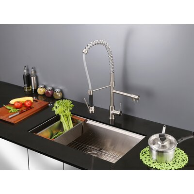 Roma 32 x 19 Undermount Single Bowl Kitchen Sink