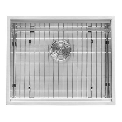 Roma Workstation 23 x 10 Undermount Kitchen Sink