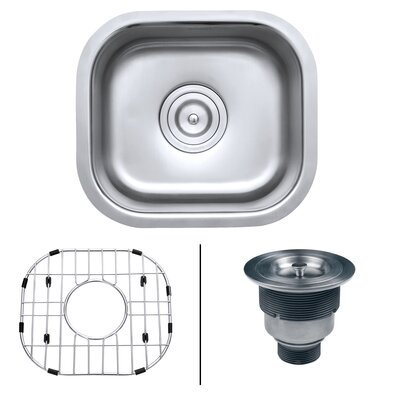 Parni 17 x 13 Undermount Bar Sink